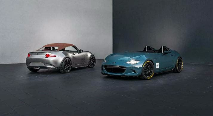 Mazda reveals lightweight MX-5 concepts
