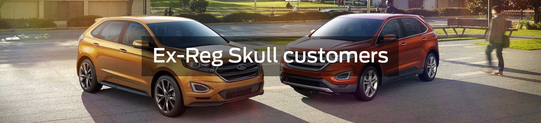 Looking after Ex-Reg Skull Customers
