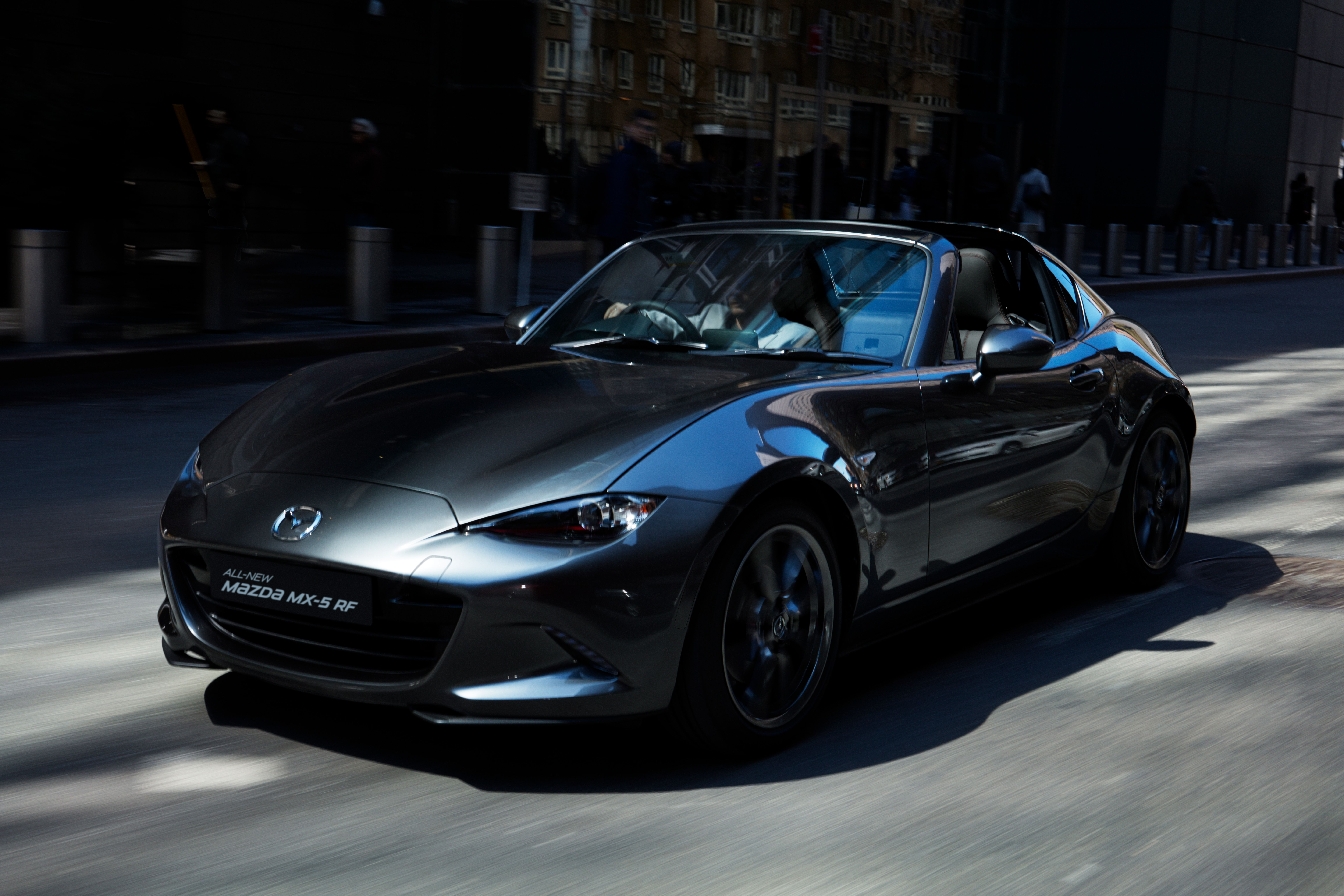 Test drive the All-new Mazda MX-5 RF and get a free nights hotel stay on us!