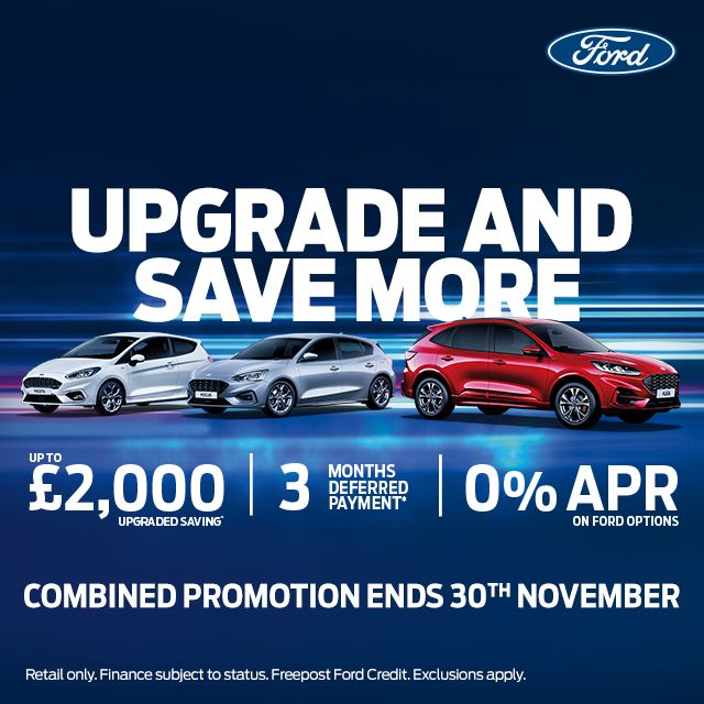 Upgrade and Save More in November