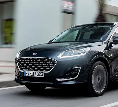 Ford new kuga - Pre-Collision Assist with Pedestrian Detection