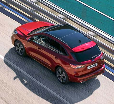 Ford new kuga - B&O PLAY Zetec
